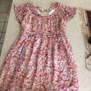 Love 21 Mini Dress, Size M (8-10), Cap Sleeve